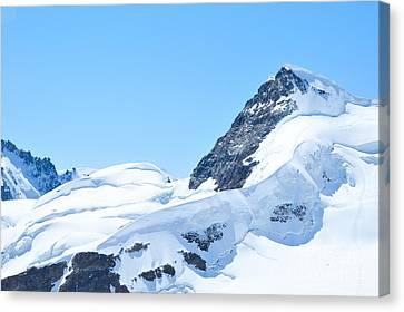 Swiss Alps Canvas Print by Joe  Ng