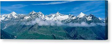 Swiss Alps, Switzerland Canvas Print by Panoramic Images