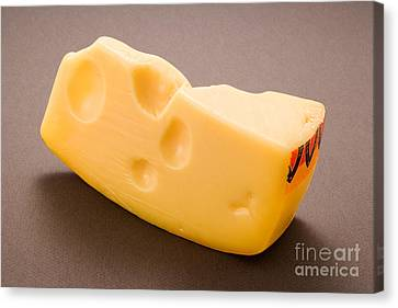 Swiss Cheese Canvas Print by Danny Smythe