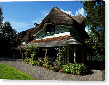 Swiss Cottage - Cottage Orness Built Canvas Print by Panoramic Images