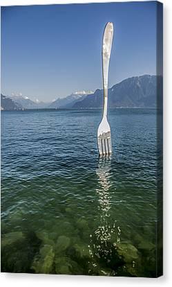 Swiss Diet Canvas Print by Igor Baranov