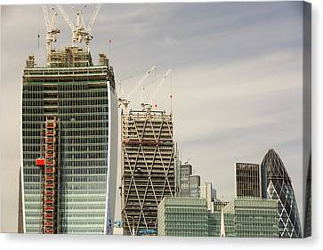 Swiss Re Tower Canvas Print by Ashley Cooper