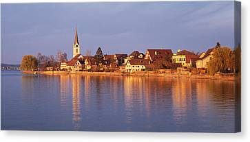 Switzerland, Berlingen, Town Canvas Print by Panoramic Images
