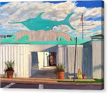 Swordfish Beach Club Canvas Print