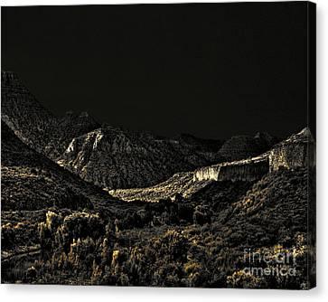 Verde River Canvas Print - Sycamore Canyon I by Arne Hansen