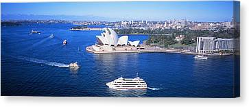 Sydney Harbor, Sydney, Australia Canvas Print by Panoramic Images