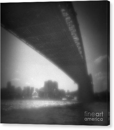 Sydney Harbour Bridge And North Sydney Canvas Print by Colin and Linda McKie