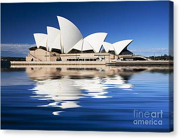 Sydney Icon Canvas Print