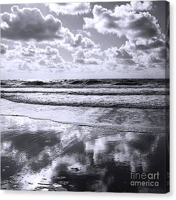 Sylt Square O1 Canvas Print by Steffi Louis