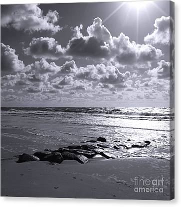 Sylt Square O2 Canvas Print by Steffi Louis