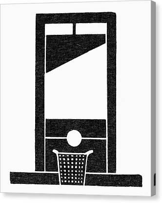Symbol Guillotine Canvas Print by Granger