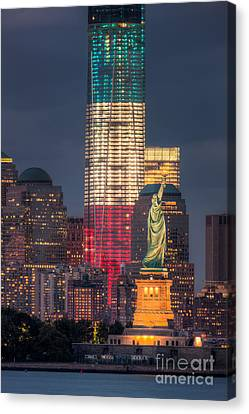 New York City Canvas Print - Symbols Of Freedom I by Clarence Holmes