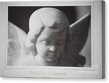Sympathy      Angel Canvas Print
