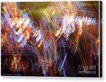 Symphonic Light Abstraction  Canvas Print by Chris Anderson