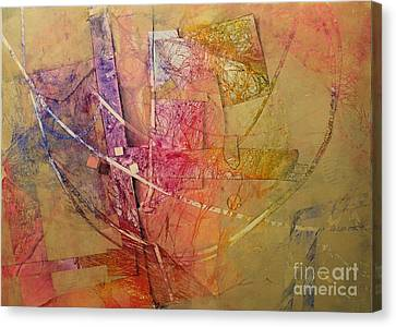 Canvas Print featuring the painting Symphony I by Elizabeth Carr