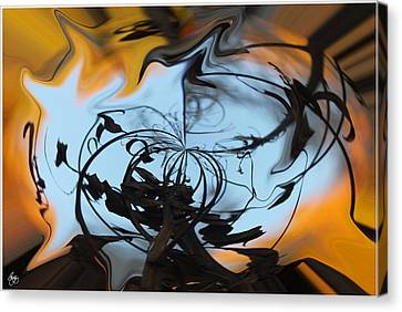 Symphony In Silhouette  Canvas Print by Wayne King