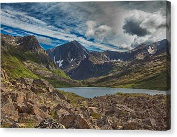 Symphony Lake Canvas Print