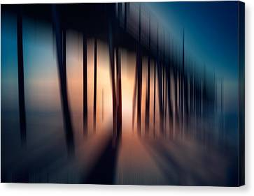 Symphony Of Shadow - A Tranquil Moments Landscape Canvas Print