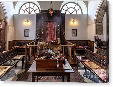 Synagogue In Chania Crete Greece Canvas Print