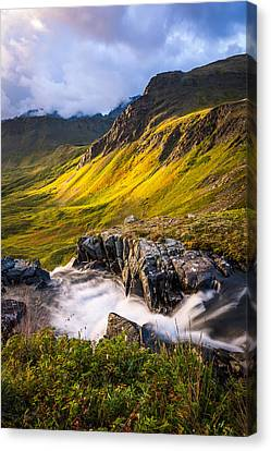 Synclavier Foothills Canvas Print