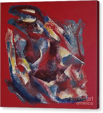 Canvas Print featuring the painting Syncopation by Mini Arora