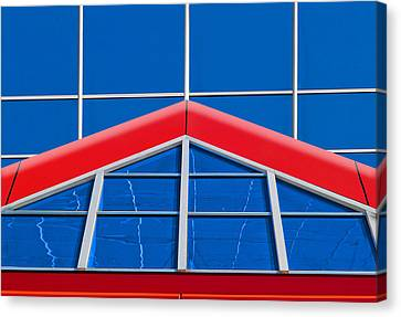 Red Roof Canvas Print - Synergy by Paul Wear