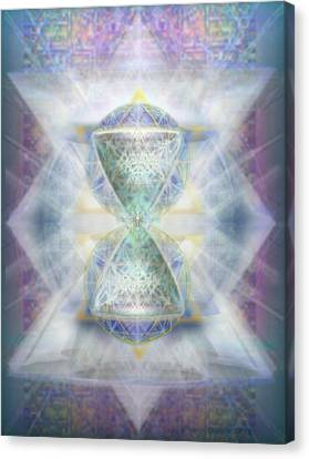 Synthesphered Chalice Fifouray Star On Tapestry Canvas Print by Christopher Pringer