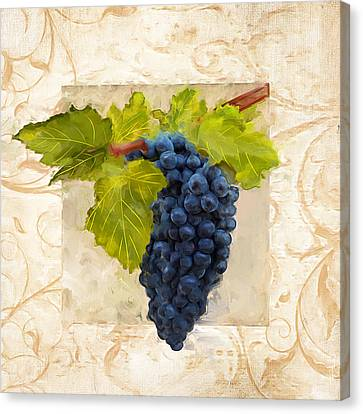 Syrah II Canvas Print by Lourry Legarde