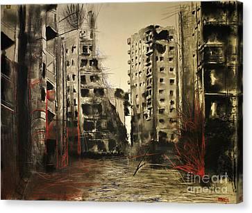 Syria Canvas Print by Maja Sokolowska
