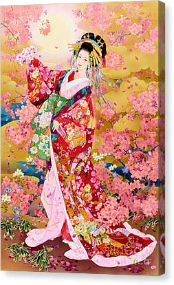 Syungetsu Canvas Print by MGL Meiklejohn Graphics Licensing