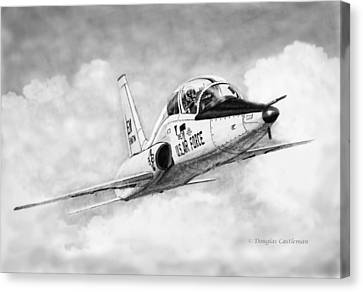 T-38 Talon Canvas Print by Douglas Castleman