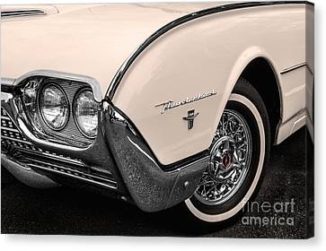 T-bird Fender Canvas Print by Jerry Fornarotto