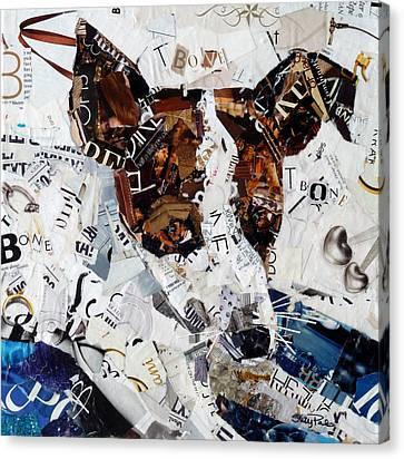 T-bone Canvas Print by Suzy Pal Powell