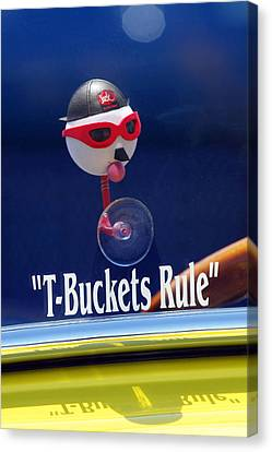 T-buckets Rule Canvas Print by Jill Reger