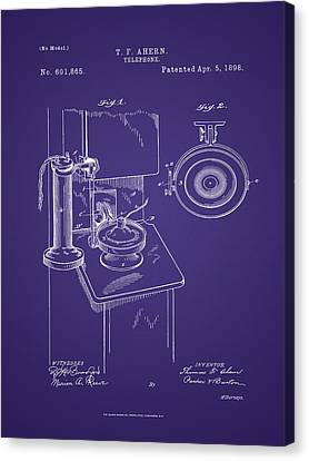 T. F. Ahearn Telephone Patent Canvas Print