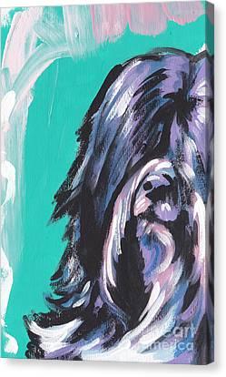 Tibetan Canvas Print - T N T by Lea S