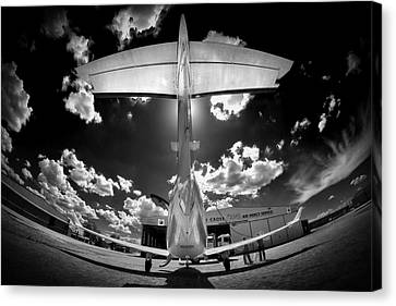 T Wing Canvas Print by Paul Job
