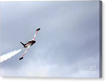 T33 Shooting Star Canvas Print by Ules Barnwell