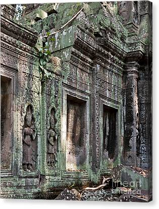Ta Prohm Temple 03 Canvas Print by Rick Piper Photography
