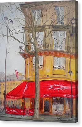 Tabac, 2010 Oil On Canvas Canvas Print by Antonia Myatt