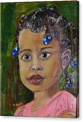 Tabitha Canvas Print by MaryAnne Ardito