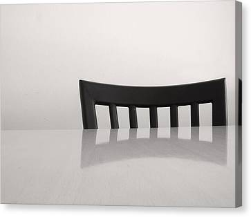 Table And Chair Canvas Print