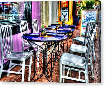 Table For Six Canvas Print by Debbi Granruth