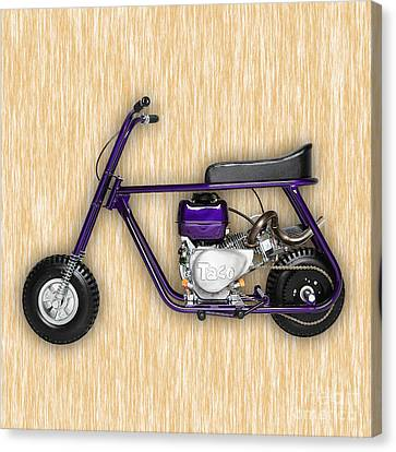 Taco 22 Mini Bike Canvas Print