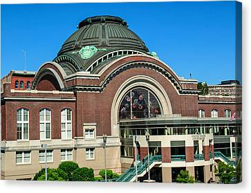 Tacoma Court House At Union Station Canvas Print