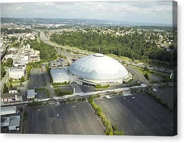 Tacoma Dome, Tacoma, Wa Canvas Print by Andrew Buchanan/SLP