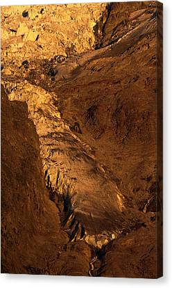 Taconnaz Glacier Canvas Print by Duncan Shaw
