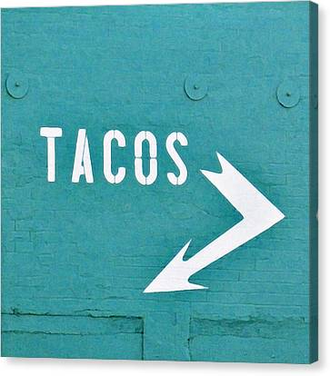 Festival Canvas Print - Tacos by Art Block Collections