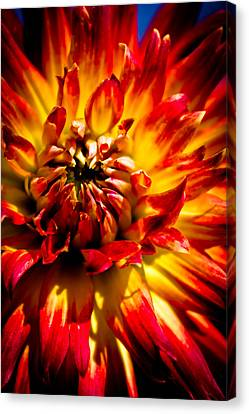 Canvas Print featuring the photograph Tahiti Sunrise by Joel Loftus