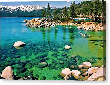 Tahoe Bliss Canvas Print by Benjamin Yeager